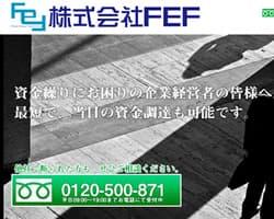 FEFのスクリーンショット画像